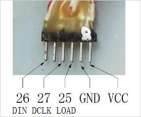 CH451 点阵LED显示模块