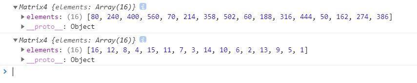 three.js中的矩阵计算